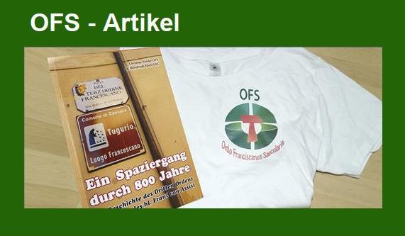OFS | Ordo Franciscanus Saecularis Österreich | OFS Shop