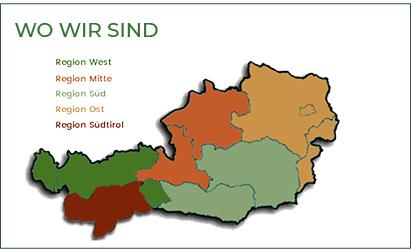 OFS | Ordo Franciscanus Saecularis Österreich | Wo wir sind